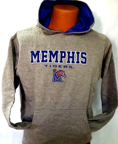 New  NCAA University of Memphis Tigers Embroidered Pullover Youth Hoodie