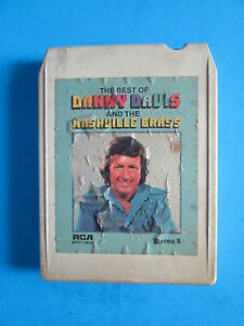 The Best Of Danny Davis And The Nashville Brass  8 Track Tape