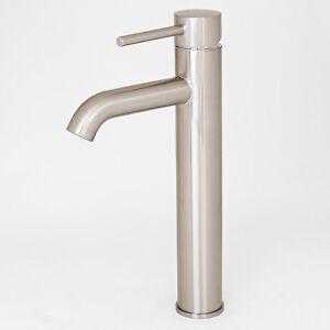 Image Is Loading Euro Modern Brushed Nickel Bathroom Vessel Sink Faucet