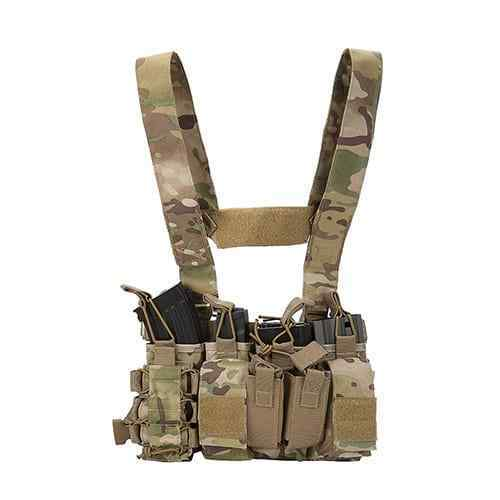 DLP Tactical D3 Universal Chest Rig mit 223  308 Beuteln