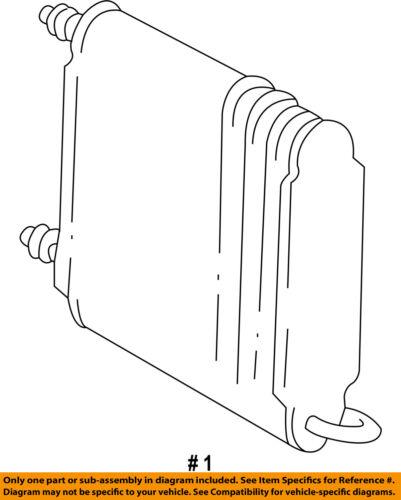 GM OEM-A//C AC Evaporator Core 52464036