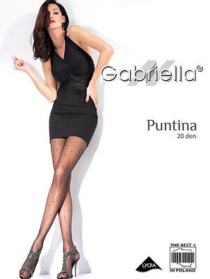 Gabriella Feinstrumpfhose Puntina gepunktet 20 DEN
