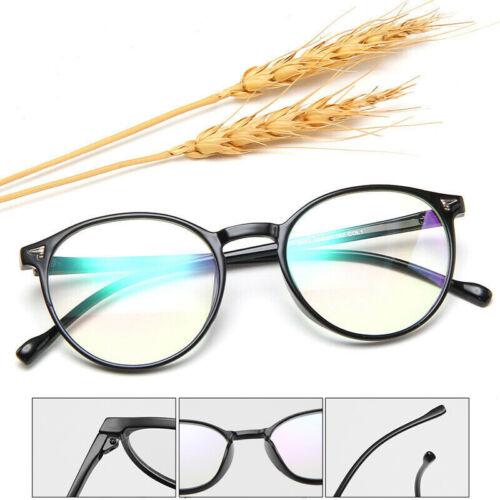 Vintage Retro Eyeglasses Oval Round Circle Frame Clear Lens Glasses Eyewear