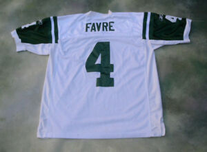 Reebok NFL New York Jets Brett Favre  4 Jersey Size 52.  3a2c944c3