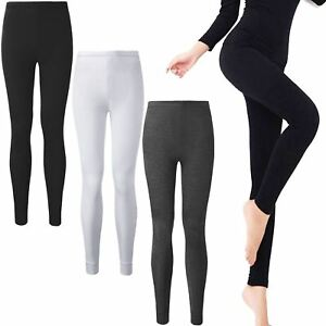 Image is loading WOMENS-LADIES-THERMAL-UNDERWEAR-LONG-JOHNS-WINTER-SKI- 2d00f11a1