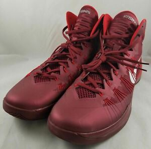 New-NIKE-Hyperdunk-2013-Men-039-s-Size-18-Basketball-Shoes-Team-Red-University
