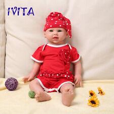 51cm Full Body Silicone Reborn Dolls Lifelike Newborn Baby Girl Xmas Gifts Toys