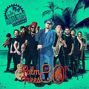 The-Dualers-Palm-Trees-and-80-Degrees-CD-Sent-Sameday