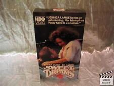 Sweet Dreams (VHS, 1991) Jessica Lange Ed Harris HBO Video; Slipcover