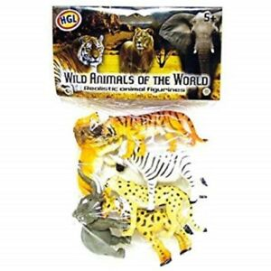 Quality Animaux Sauvages Du Monde Animal Figurines In Sv10681 Wildlife Safari Zoo Tigre Superior