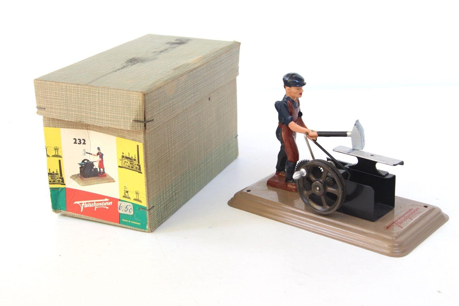Fleischmann Herrero & Yunque con caja de hojalata-Juguete de vapor vivo además