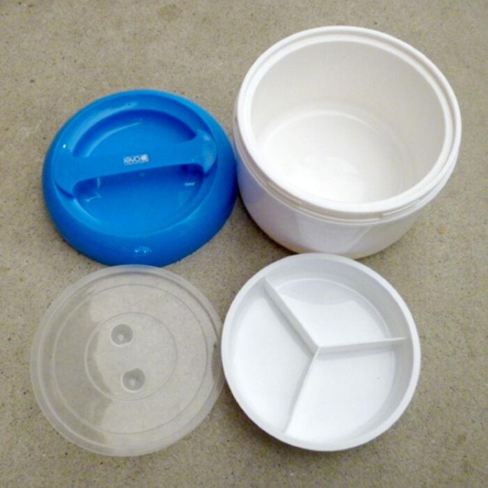 Contenitore termico per alimenti Doppio contenitore per per per pranzo asporto Eva 6c55f5