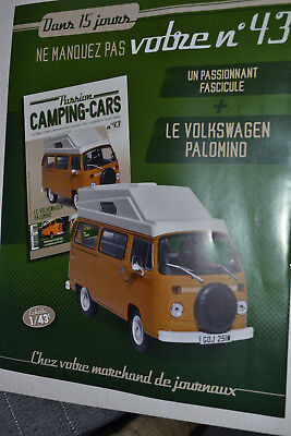 VOITURE CAMPING CAR MOTOR HOME N°43 LE VW PALOMINO