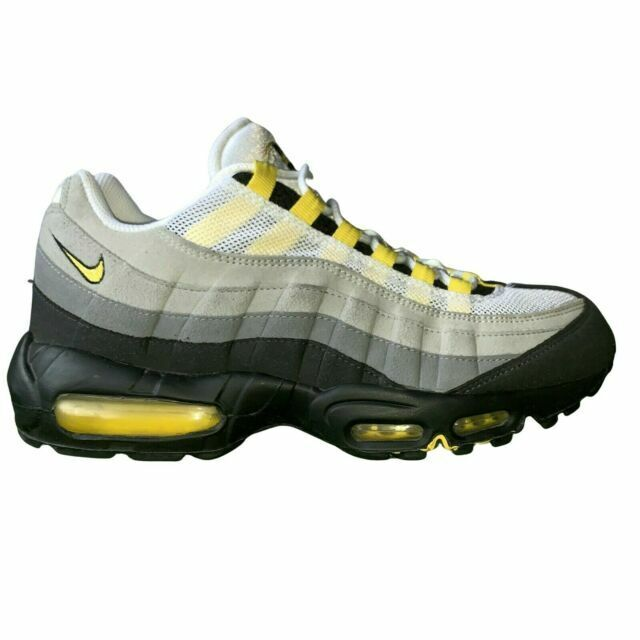 Size 11 - Nike Air Max 95 Tour Yellow Grey 2011 for sale online   eBay