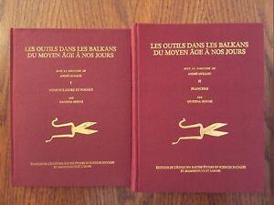 Les outils dans les Balkans du moyen-âge à nos jours - 2 Volumes