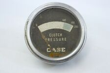 Vintage Case Tractor Clutch Pressure Gauge Part Accessory Dash M98