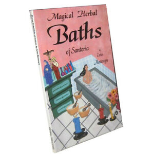 Details about Magical Herbal Baths of Santeria by Carlos Montenegro  (Paperback)