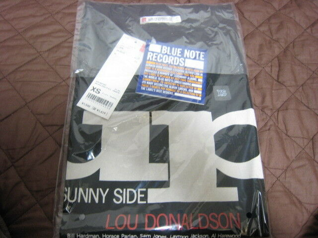 Lou Donaldson Sunny Side Up T-Shirts by Uniqlo Japan Blaunote XS Größe