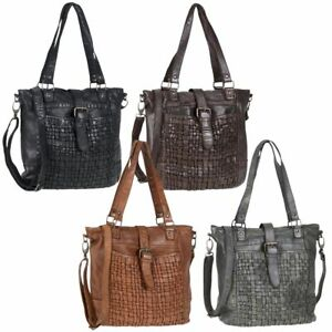 Details zu Bear Design Handtasche Damen Tasche Leder Schultertasche Shopper