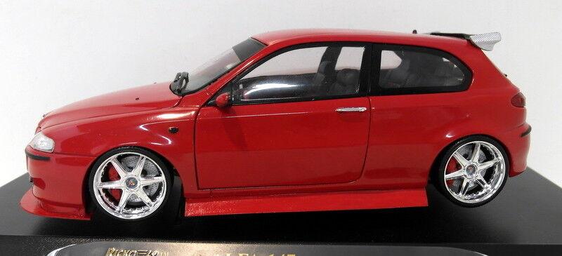 Ricko 1/18 Scale Diecast 32111 Alfa Romeo Romeo Romeo 147 Modified / Customised Rouge  Unique! | Matériaux Sélectionnés Avec Soin  0a5c43
