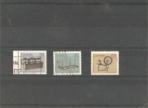 3 used  standartstamps (set) with Heritage Artifacts,1985 year issue