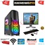 Fast-Gaming-PC-Intel-Core-i7-Quad-Core-Computer-16GB-Ram-1TB-120GB-SSD-2GB-GT710 thumbnail 1