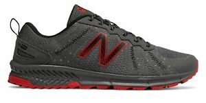 New-Balance-Men-039-s-590v4-Trail-Shoes-Grey-with-Red