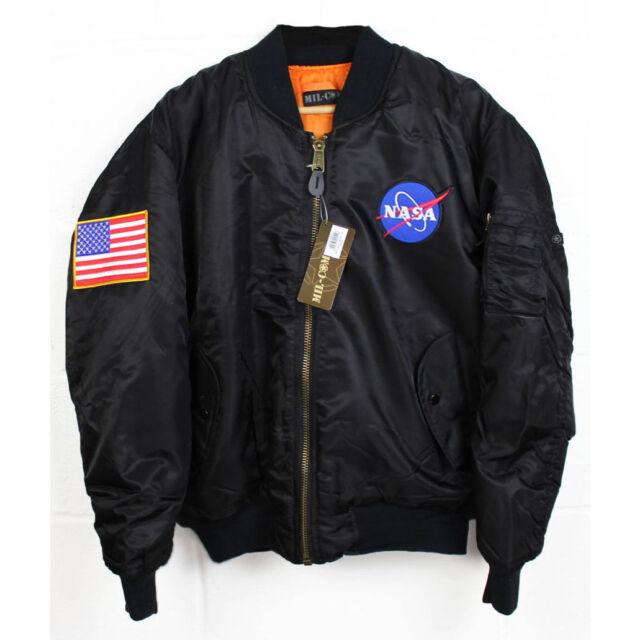 NASA MA-1 Flight Bomber  Jacket NEW