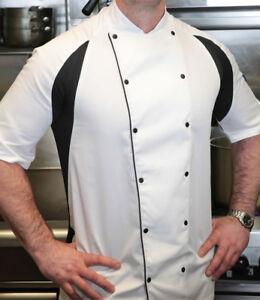 Le Chef - Short Sleeve Executive Jacket - Unisex Styling - XXS-5XL - Easy Iron