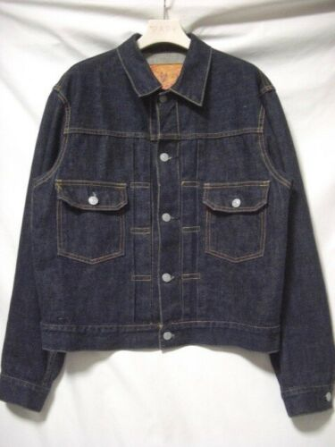 EVIS Evisu 1507 507XX TYPE 2ND DENIM JACKET G Jean