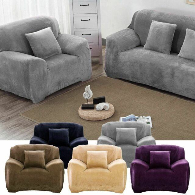 Stretch Chair Sofa Covers Couch Cover Elastic Slipcover Protector Pet Sheet