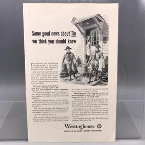 Vintage-Revista-Anuncio-Estampado-Diseno-Publicidad-Westinghouse-Metalica-Anclar