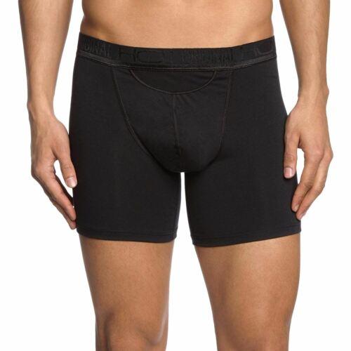 "HOM XS//30/"" HO1 Original Cotton Modal Longer Leg Boxer Brief Underwear"