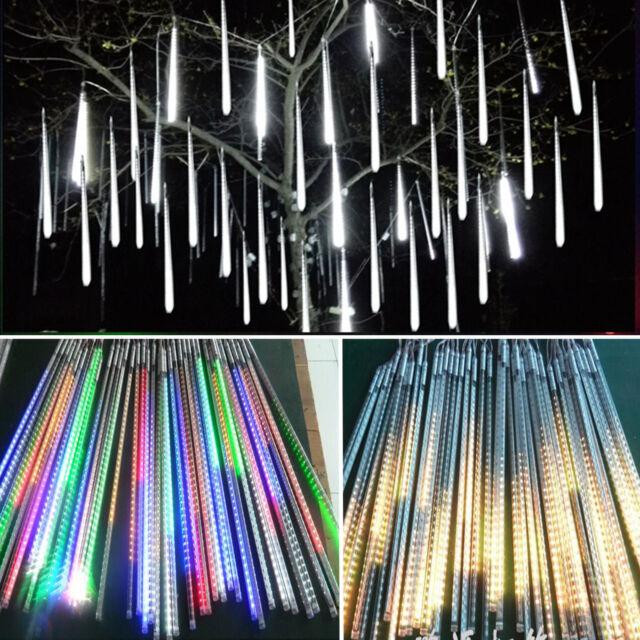 Meteor Shower LED Rain String Fairy Lights Christmas Party Xmas Flash Tree Lamps