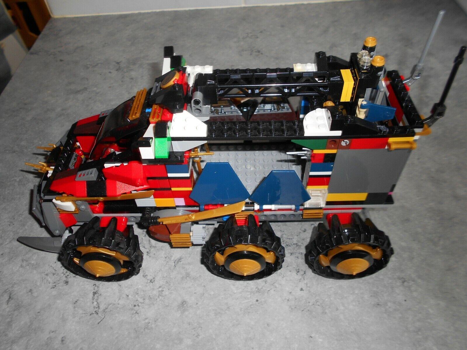 LEGO NINJAGO - SET 70750 - [ LA BASE MOBILE ]