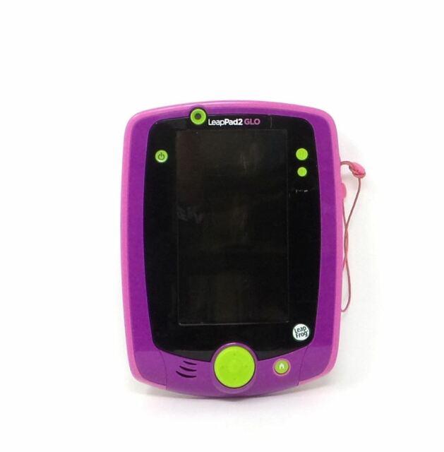 LeapFrog LeapPad2 GLO Kids Learning Tablet 80-32520E Purple Bare