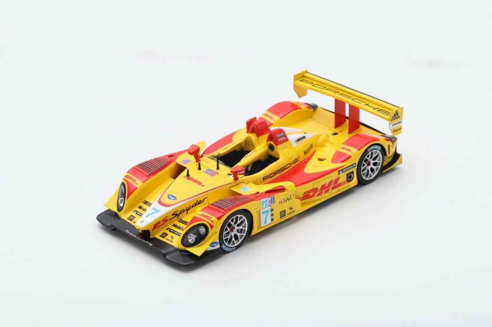 PORSCHE RS Spyder N°7 Champion LMP2 classe ALMS 2007 - Spark S4185
