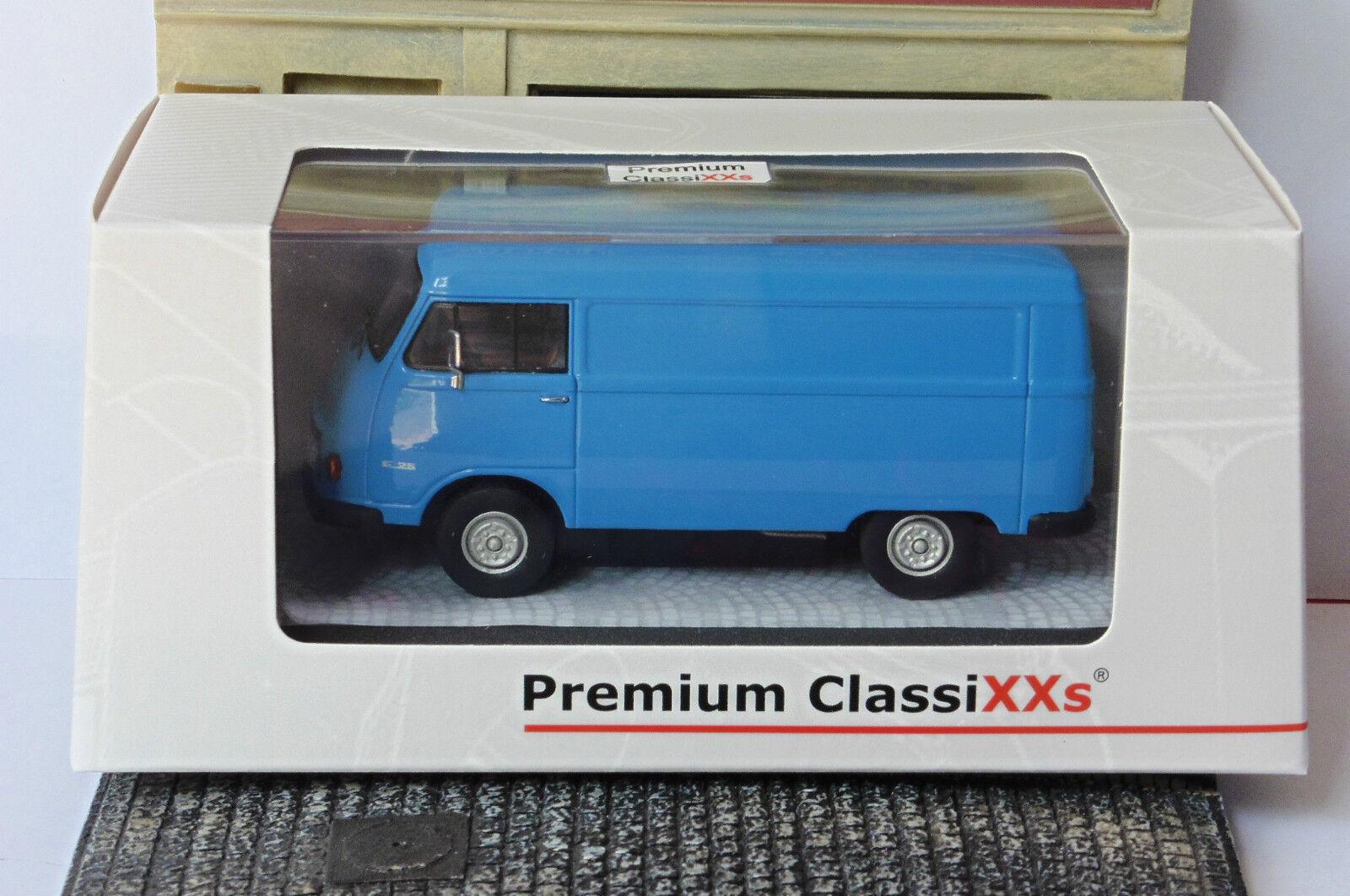 HANOMAG F25 F25 F25 KASTENWAGEN blue 1965 PREMIUM CLASSIXXS 13400 1 43 TOLE blueE blue 3c7f0f