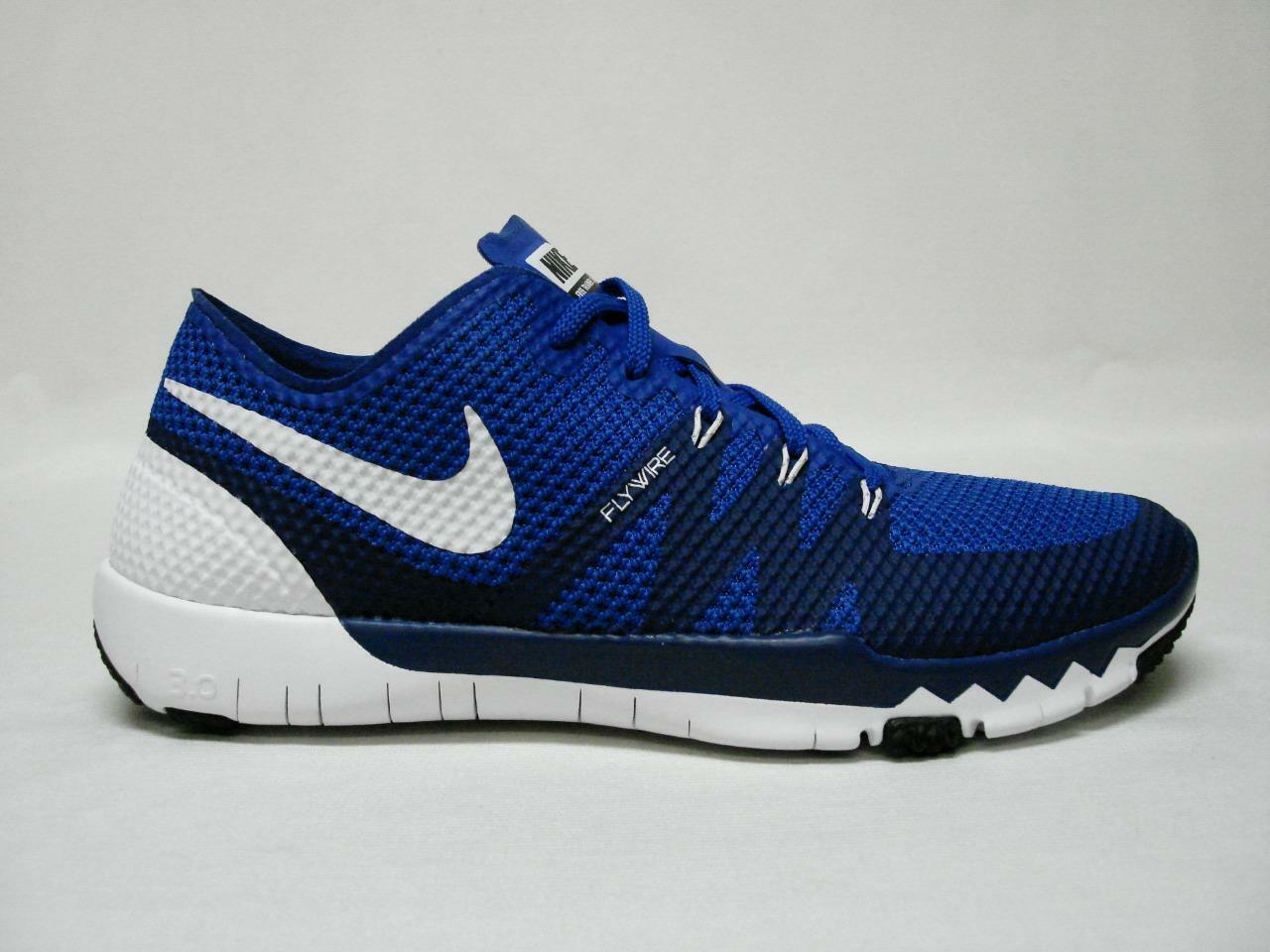 NEW NIKE FREE TRAINER 3.0 V3 MEN'S SHOE'S 11.5 BLUE SWEET LOOKING SHOE'S Special limited time