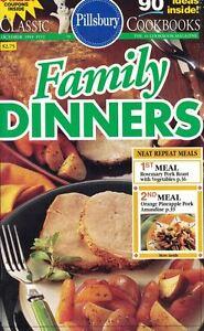 Pillsbury-FAMILY-DINNERS-Small-Cookbook-152-90-Ideas-Inside-1993-Neat-Repeats