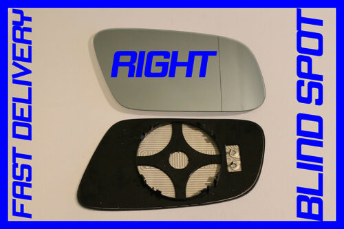 AUDI A6//S6//C5 1999-2002 FACELIFT WING MIRROR GLASS  HEATED BLIND SPOT RIGHT
