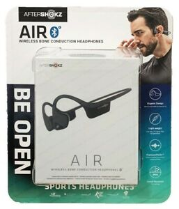 AfterShokz-Air-trekz-Ouvrir-l-039-oreille-Bone-Conduction-Bluetooth-Casque-Sans-Fil