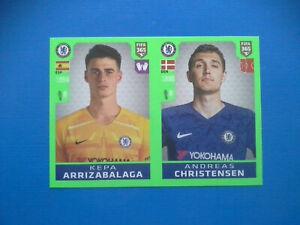 Figurine-Panini-Fifa-365-2019-20-2020-n-12-Arrizabalaga-Christensen-Chelsea