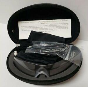 Oakley-SI-Ballistic-M-Frame-Strike-Glasses-Clear-Lens-Kit-Black-Case-HDO-Safety
