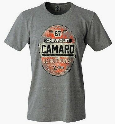 Chevrolet Camaro Z28 Smoke Heather Color Licensed T-Shirt
