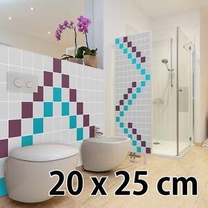 Das Bild Wird Geladen Fliesenaufkleber 20 X 25 Cm Klebefliesen Fliesendekor  Bad