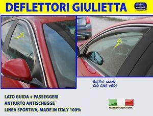 Deflettori Aria Alfa Romeo Giulietta Anteriori Finestrini Porte