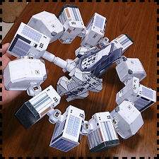 Movie Interstellar Endurance Spacecraft Ship DIY Handcraft PAPER MODEL KIT