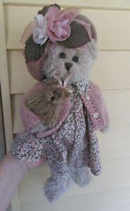 "bearington collections 13"" mama bear and baby bear fancy"