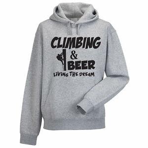 CLIMBING & BEER - Climber / Sport / Funny  / Gift Idea Men's Hoody / Hoodies
